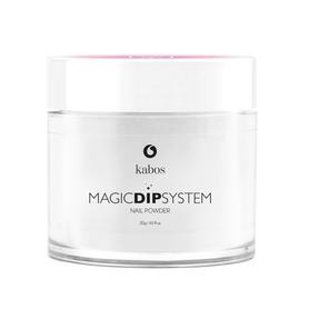 Proszek do manicure tytanowego - Kabos Magic Dip System 01 Clear