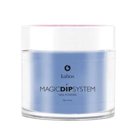 Proszek do manicure tytanowego - Kabos Magic Dip System 26 Prince Blue