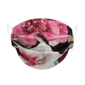 Maseczka Ochronna Jedwabna Roses