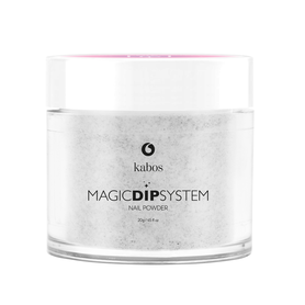 Proszek do manicure tytanowego - Kabos Magic Dip System 17 Sparkle Silver