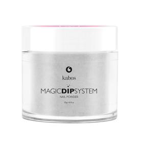 Proszek do manicure tytanowego - Kabos Magic Dip System 21 Silver