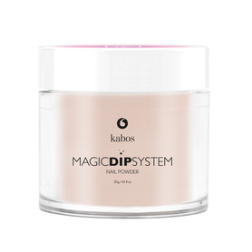Proszek do manicure tytanowego - Kabos Magic Dip System 10 Natural