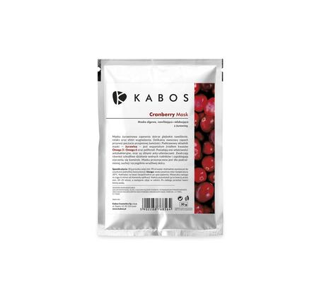 Kabos Maska Algowa Cranberry