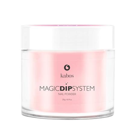 Proszek do manicure tytanowego - Magic Dip System 49 Sparkling Rose (1)