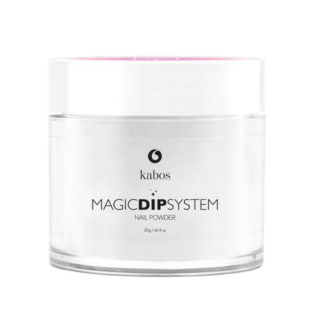 Proszek do manicure tytanowego - Kabos Magic Dip System 01 Clear (1)