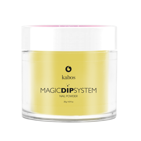 Proszek do manicure tytanowego - Kabos Magic Dip System 36 Honey Bee (1)