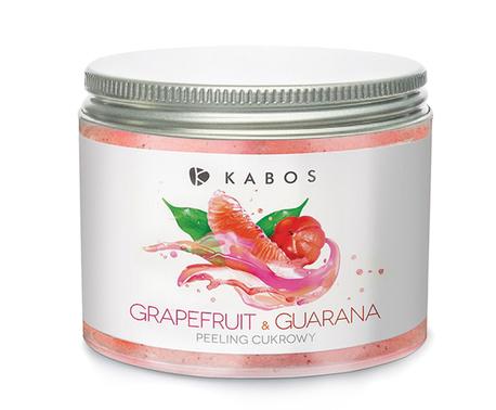 Kabos Peeling Cukrowy Grapefruit & Guarana