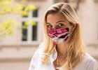 Maseczka Ochronna Jedwabna Roses (3)