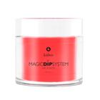 Proszek do manicure tytanowego - Magic Dip System 55 Fresh Papaya (1)