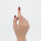 Proszek do manicure tytanowego - Kabos Magic Dip System 34 True Red (3)
