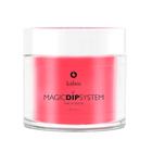 Proszek do manicure tytanowego - Magic Dip System 56 Wild Pomegranate (1)
