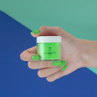 Proszek do manicure tytanowego - Kabos Magic Dip System 41 Bright Green (3)