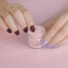 Proszek do manicure tytanowego - Kabos Magic Dip System 35 Burgundy Dot (3)