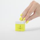 Proszek do manicure tytanowego - Kabos Magic Dip System 40 Yellow Lemon (3)