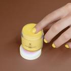 Proszek do manicure tytanowego - Kabos Magic Dip System 36 Honey Bee (3)