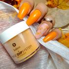 Proszek do manicure tytanowego - Magic Dip System 59 Orange Candle
