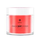 Proszek do manicure tytanowego - Magic Dip System 54 Expressive Fig (1)
