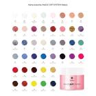 Proszek do manicure tytanowego - Kabos Magic Dip System 38 Brown Glitter (4)