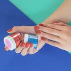 Proszek do manicure tytanowego - Kabos Magic Dip System 39 Copper Shine (3)