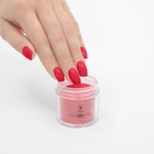 Proszek do manicure tytanowego - Kabos Magic Dip System 33 Red Heart (3)