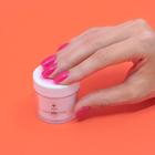 Proszek do manicure tytanowego - Kabos Magic Dip System 32 Barbie Pink (3)