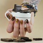 Proszek do manicure tytanowego - Kabos Magic Dip System 44 My Brownie (4)