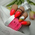 Proszek do manicure tytanowego - Magic Dip System 55 Fresh Papaya (3)