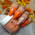 Proszek do manicure tytanowego - Magic Dip System 58 Fragrant Cinnamon